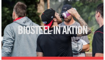 BioSteel in Aktion